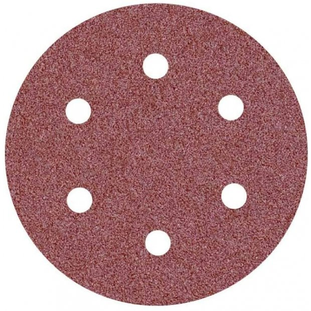 FANZTOOL 6 Loch Schleifscheiben, 30 Stück Packung, Schleifpapier 150mm/225mm, Trockenbauschleifer,Exzenterschleifer 150mm/225mm (P100/P150/P240)